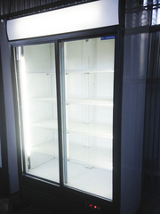 Шкафы купе холодильные со стеклянными дверьми,  витрина холодильник